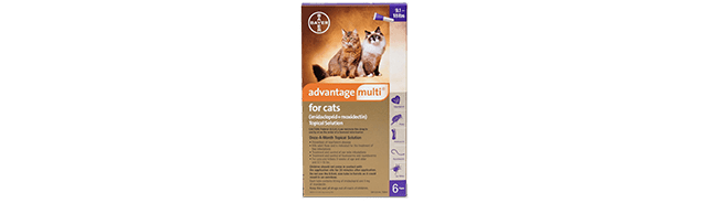 Advantage Multi® for Cats (imidacloprid + moxidectin)