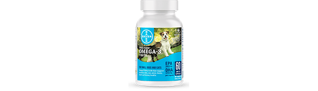 Free Form™ Omega-3 Fish Oil for Cats & Small Dogs