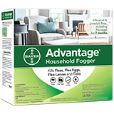 Advantage Household Fogger packaging