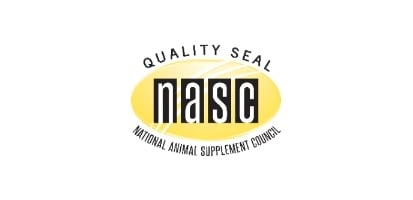 National Animal Supplement Council Quality Seal carries the National Supplement Council (NASC) Quality Seal.