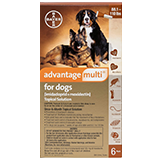 Advantage Multi for Extra Extra Large Dogs