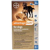 Advantage Multi for Extra Large Dogs packaging