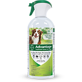 Advantage Treatment Spray for Dogs spray bottle