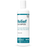 Relief Shampoo bottle