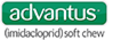Advantus® (imidacloprid) soft chew logo